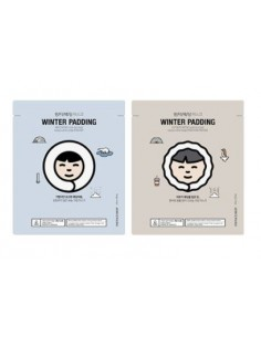 [Thefaceshop] Winter Padding Moisture & Deep Moisture Cream Mask 20g