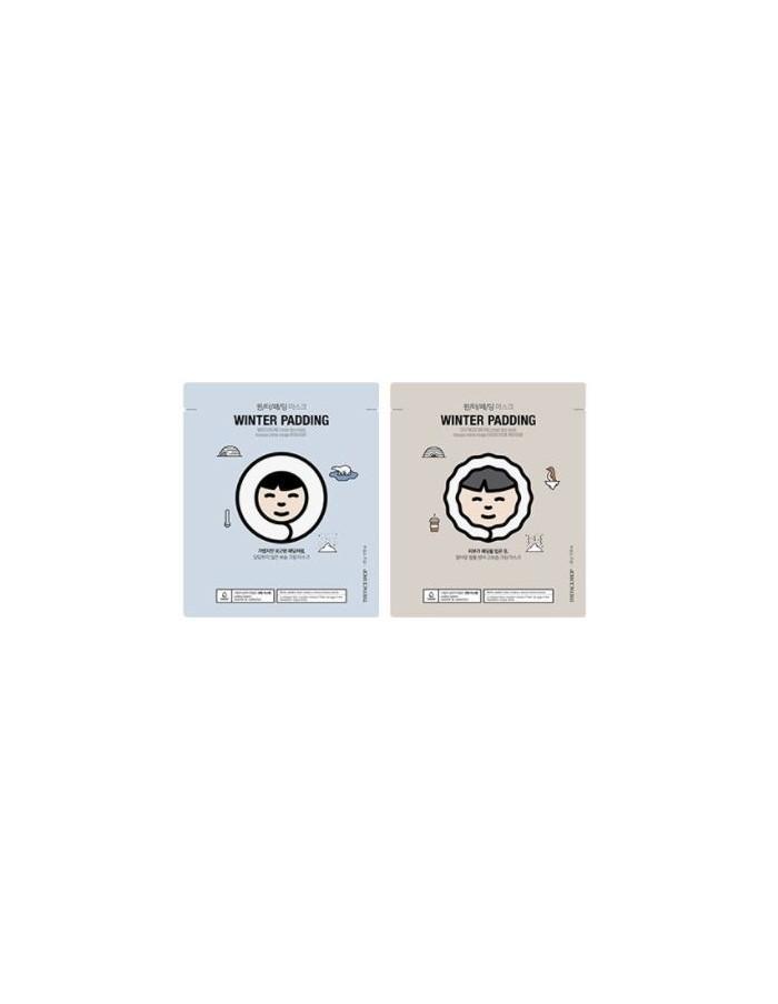 [Thefaceshop] Winter Padding Moisture & Deep Moisture Cream Mask 20g