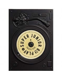 Super Junior 8th Album - PLAY [PAUSE Ver.] CD + Poster
