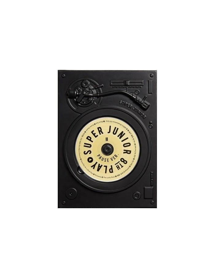Super Junior 8th Album - PLAY [PAUSE Ver.] CD + Poster