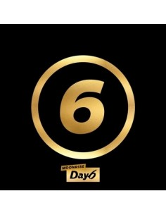 DAY6 2nd  Album - MOONRISE (GOLD MOON Ver.) CD + POSTER