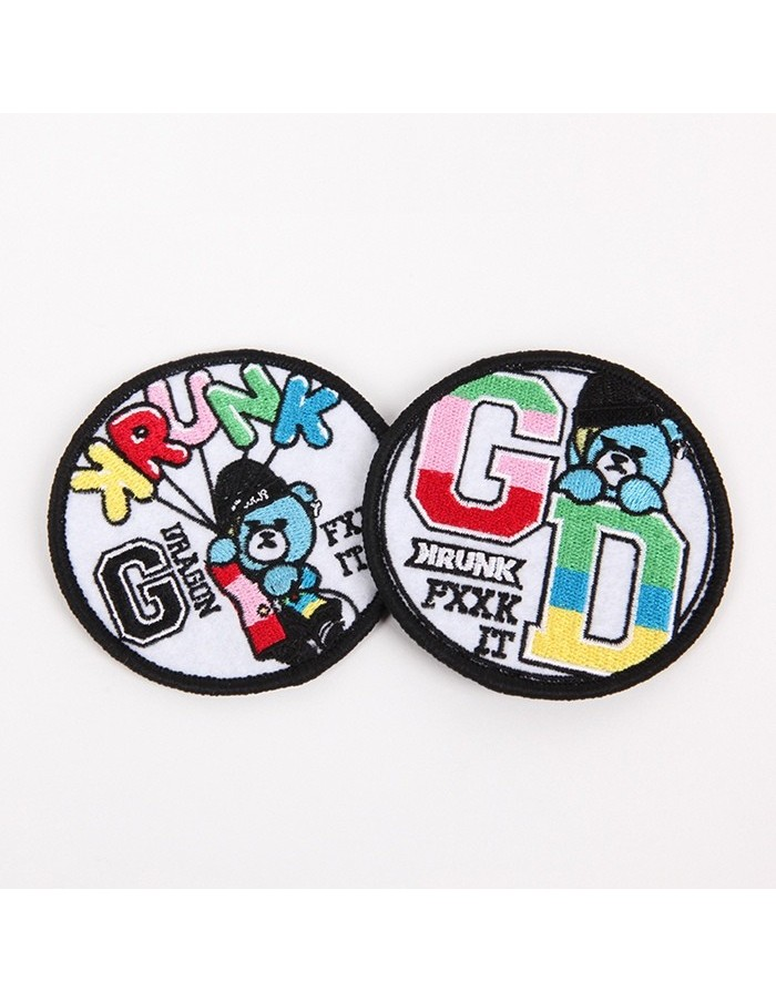 G-DRAGON X KRUNK PATCH