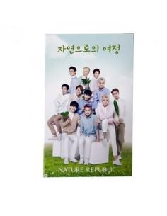 [ Nature Republic ] EXO Cotton Pad Ver.2