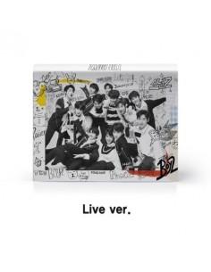 THE BOYZ 1st Mini Album - THE FIRST CD (Ver.A LIVE) + POSTER