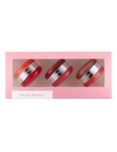 [Nature Republic]  Dual Lip & Cheek Macaron Kit 30g