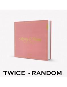 Twice 1st Album REPACKAGE - [MERRY&HAPPY] (Random Ver.) CD + Poster