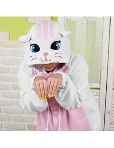 SHINEE Animal Pajamas - WHITE CAT
