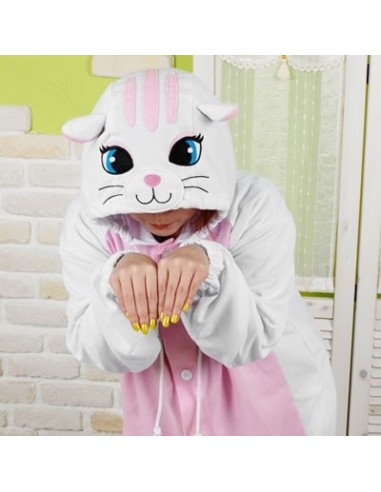 SHINEE Animal Pajamas - WHITE CAT