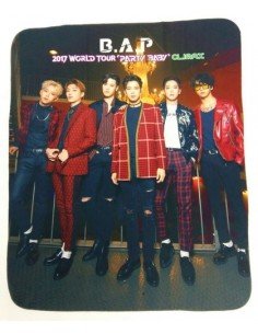 BAP - 2017 World Tour 'Party Baby' Concert : Lap Blanket