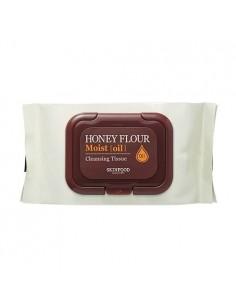[Skin Food] Honey Flour Moist Oil Cleansing Tissue 30sheets