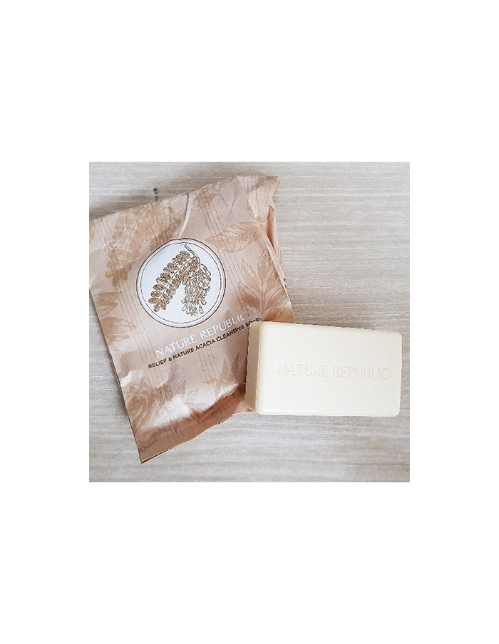 [ Nature Republic ] Relief & Nature Acacia Cleansing Soap