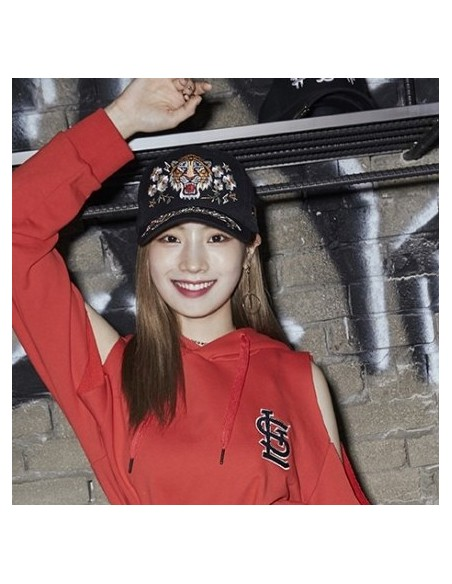 [MLB] BLACK TIGER Flat Vigor Snapback _ TWICE DAHYUN