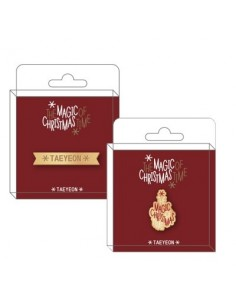 Badge : TAEYEON SNSD The Magic Of Christmas Time Goods