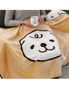 [MERRYBETWEEN] Character Blanket - Milk