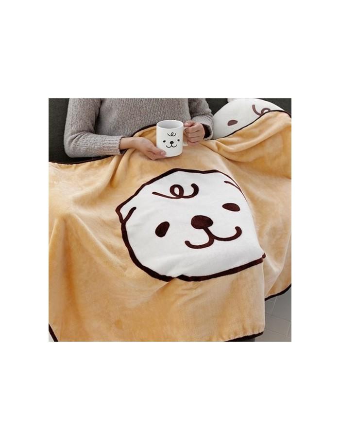 [MERRYBETWEEN] Character Blanket - Milk