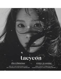 TAEYEON Winter Album - WINTER IS COMING CD +  Poster
