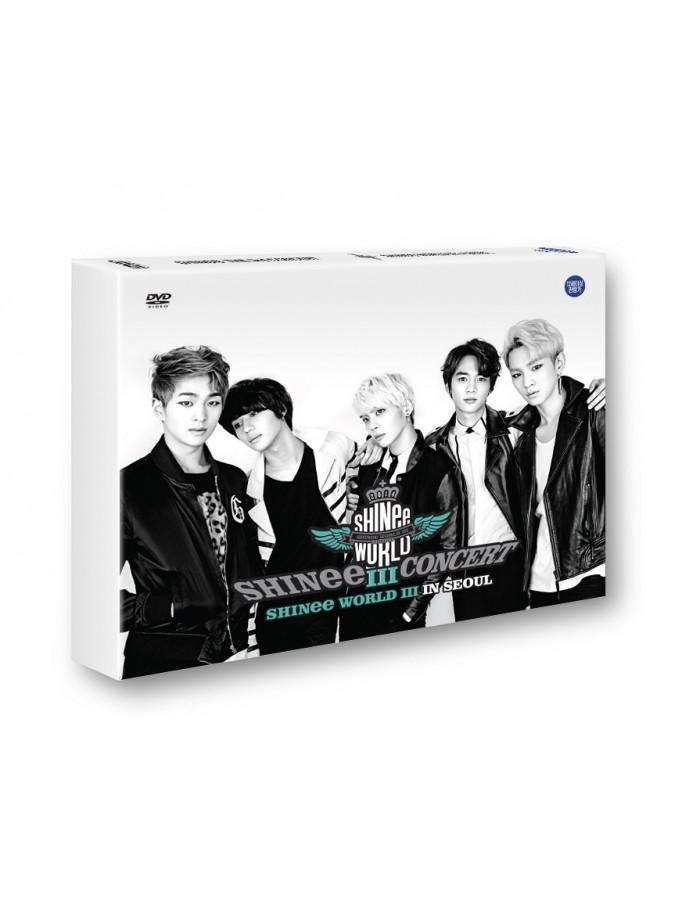 [DVD] SHINEE the 3rd Concert Album - SHINEE WORLD Ⅲ In SEOUL - DVD + Poster