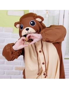 SHINEE Animal Pajamas - BROWN BEAR vol.2