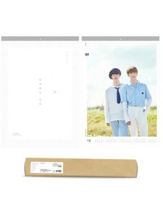 BTS 2018 WALL CALENDAR [Limited Edition]