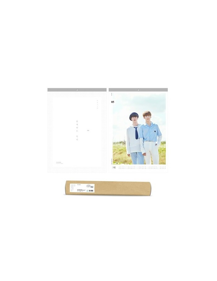 BTS 2018 WALL CALENDAR [Limited Edition]