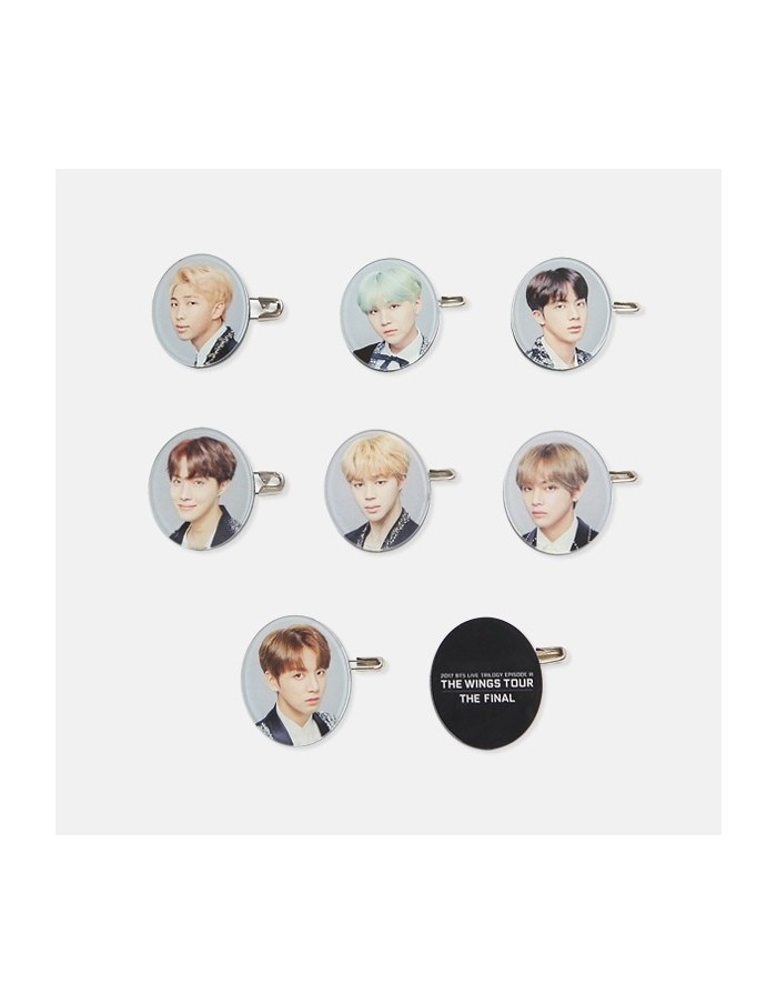 BTS 2017 THE WINGS TOUR THE FINAL Goods - Acrylic Badge Set