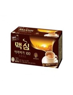 Korean Maxim ARABICA Instant Coffee Mix 20 Sticks POUCH 11.8g x20 Pcs (BLACK COFFEE)