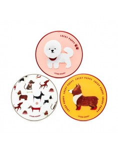 [ETUDE HOUSE] Lucky Puppy Cushion Case (3Kinds)