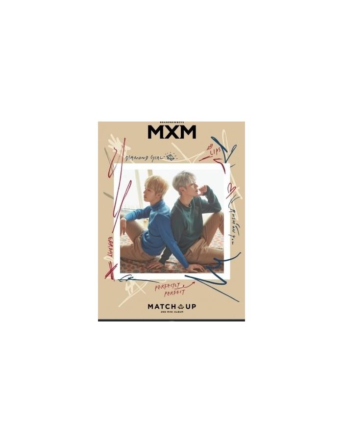 MXM (BRANDNEW BOYS) 2nd Mini Album - MATCH UP (X Ver.) + Poster