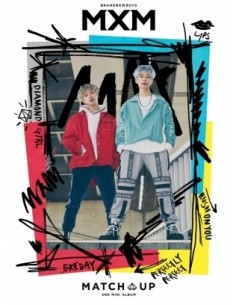 MXM (BRANDNEW BOYS) 2nd Mini Album - MATCH UP (M Ver.) + Poster