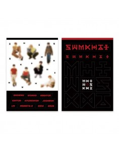 Monsta X - THE CODE Show-Con Goods : REMOVABLE STICKER SET