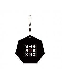 Monsta X - THE CODE Show-Con Goods : HEPTAGON NAME TAG