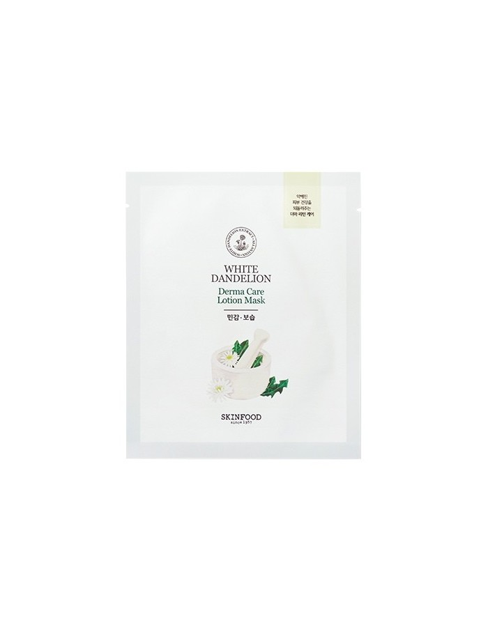 White Dandelion Derma Care Lotion Mask 23g