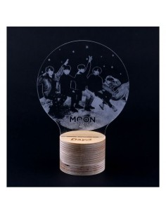 Acrylic Mood Lamp - DAY6 Every DAY6 Concert in December Concert Goods