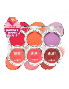 [Peripera] Watercolor Velvet Cheek 4g (6Colors)