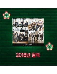 BTS 2018 Smart Collaboration Desk Calendar(Pre Order)