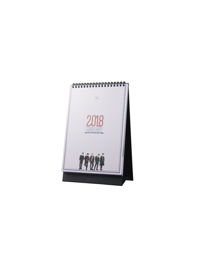 2018 Calendar - HIGHLIGHT LIVE 2017 CELEBRATE IN SEOUL Concert Goods