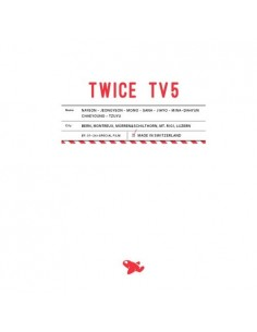 TWICE - TWICE TV5 DVD / TWICE in SWITZERLAND DVD  (3Discs)