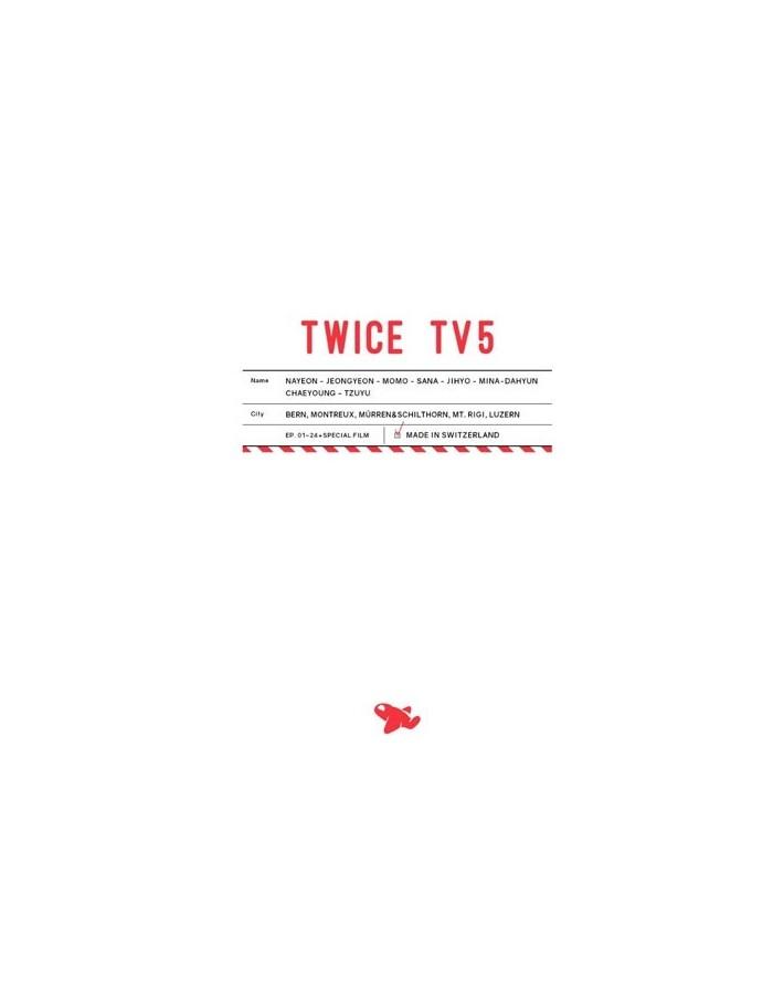 TWICE - TWICE TV5 DVD / TWICE in SWITZERLAND DVD  (3Discs)
