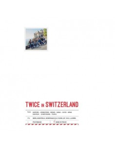 TWICE - TWICE TV5 / TWICE in SWITZERLAND PHOTOBOOK