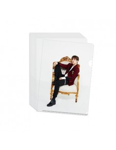 "Clear File (White) - 2018 SVT 2nd Fan Meeting ""SEVENTEEN in Carat Land ""Goods"