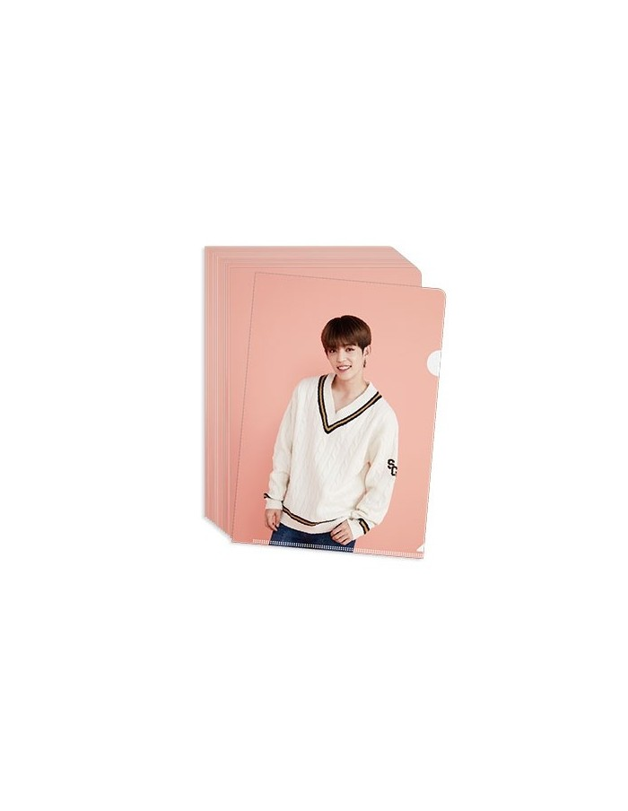 "Clear File (Pink) - 2018 SVT 2nd Fan Meeting ""SEVENTEEN in Carat Land ""Goods"
