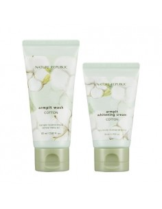 [ Nature Republic ] Cotton Armpit Kit 130ml