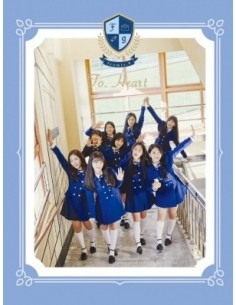 Fromis9 1st Mini album - Heart CD (Blue VER)