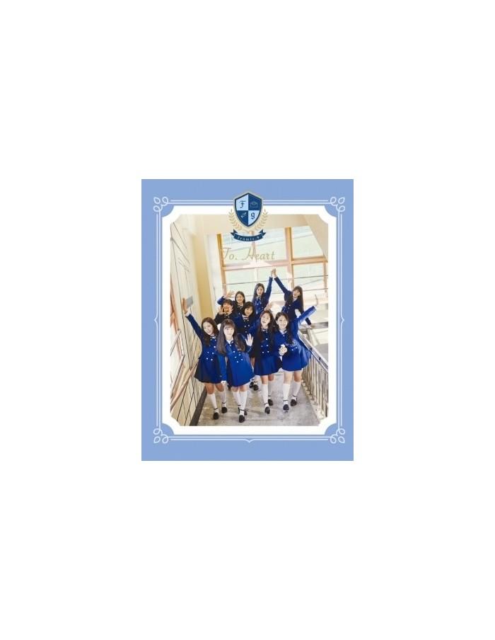 Fromis9 1st Mini album - Heart CD (Blue VER)