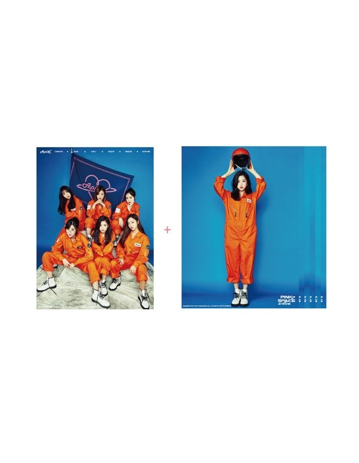 Apink Poster Set - Pink Space 2018 Concert Goods