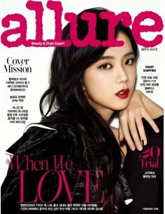 Magazine ALLURE korea 2018-2 Black Pink JISOO