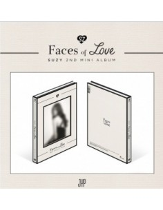 Suzy 2nd Mini Album - Faces of Love CD + Poster