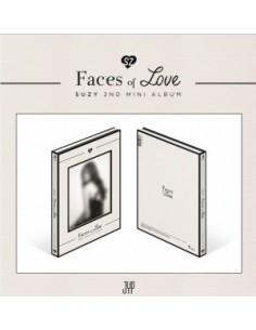 Suzy 2nd Mini Album - Faces of Love CD + Poster