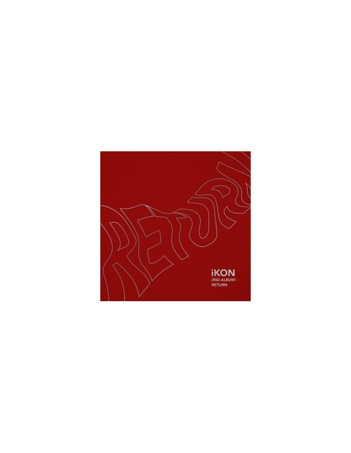IKON 2nd Album - Return(Red Ver) CD + Poster