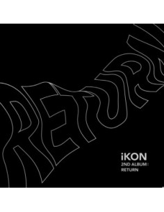 IKON 2nd Album - Return(Black Ver) CD + Poster